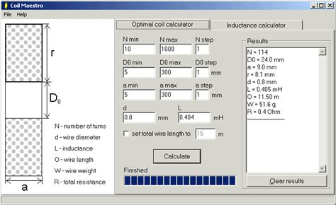 coil inductance calculator software coil maestro solenoid inductance calculator electronic circuits