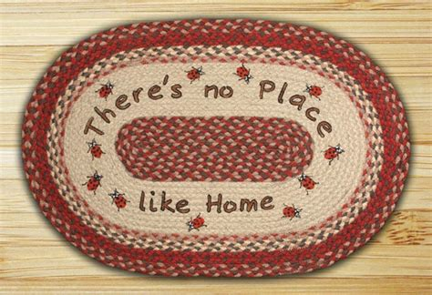 the braided rug place earth rugs no place like home