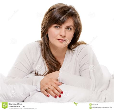 Pleasing A In Bed by Pleasure In The Bed Stock Photo Image 55279128