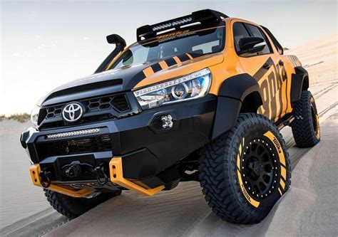 Yellow Bed Frame Powerful Part Toyota Hilux Tonka Concept On 35 Z 246 Llern