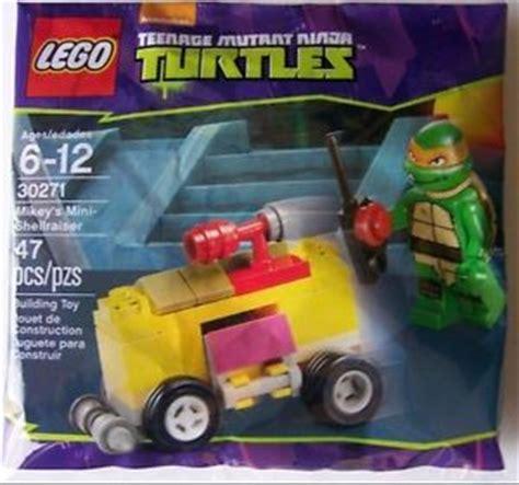 Lego Polybag Tmnt Mikey S Mini Shellraiser Set 30271 lego 30271 mikey s mini shellraiser polybag lego tmnt