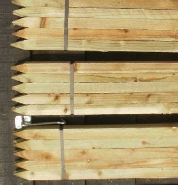 tall  mm square wooden pressure treated