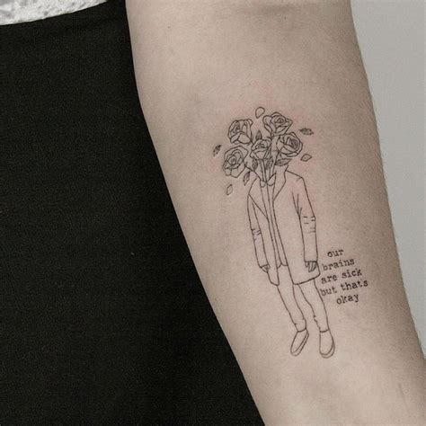 minimalist flower tattoo 23 amazing minimalist tattoos by the talented lindsay