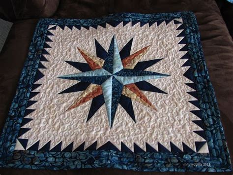 Compass Quilt Pattern by 25 Best Ideas About Mariners Compass On Www