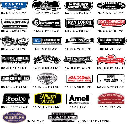 Auto Decal Material by White Matte Vinyl Decals Auto Dealer Supplies Mbr