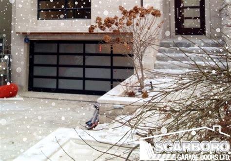 garage ready  winter scarboro garage doors