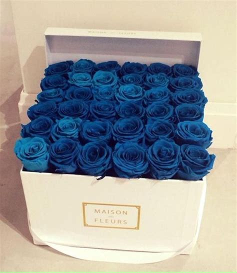 Box A Single Blue Preserved Flower Represent Unattainable 25 best ideas about blue roses on color meanings pale meaning and purple roses