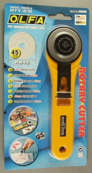 Olfa Rotary Cutter Rty2g cottontail crafts rotary cutter 45mm