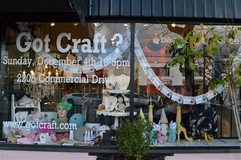 Handmade Craft Store - got craft window displays fields shoppe