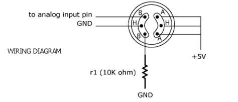 Soket Sensor Seri Mq 6 Pin mq 6 gas sensor interfacing with arduino circuits4you