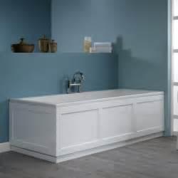 Shower Bath Panel 800 Series 1700mm Front Panel White Roper Rhodes