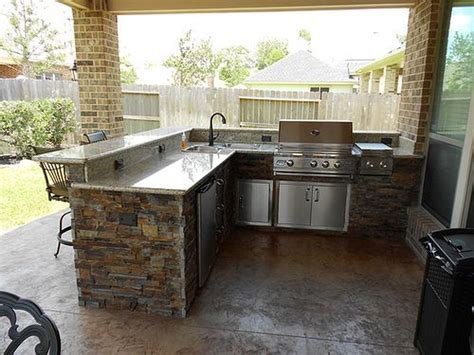 awesome yard and outdoor kitchen design ideas 20 hoommy