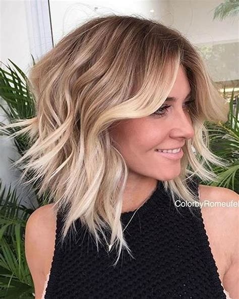 2018 Latest Short Blonde Styles | short bob ombre hairstyles 2017 hairstyles