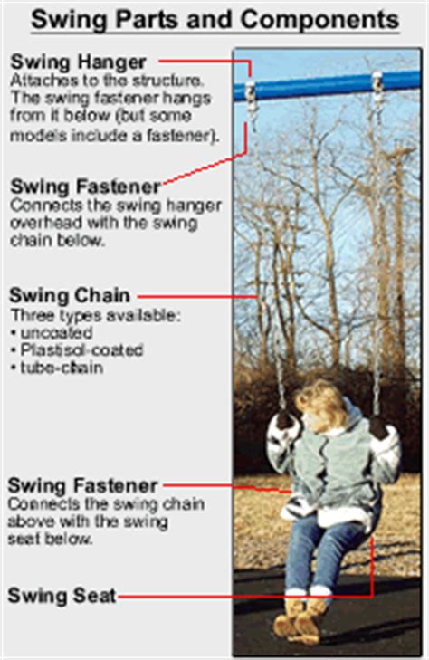 parts of a swing special needs swing parts
