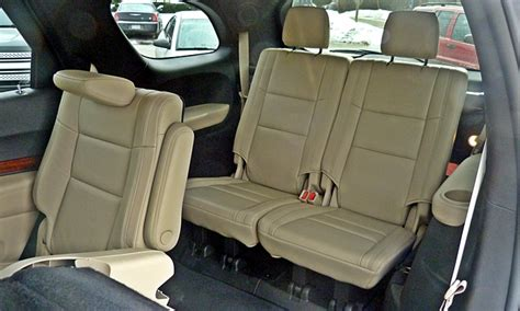 dodge durango third row seat dodge durango photos car photos truedelta