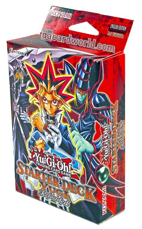 yugi reloaded starter deck card list konami yu gi oh yugi kaiba reloaded starter box da