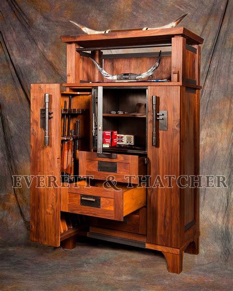 Dresser With Gun Storage by Gun Safe Gun Cabinet Walnut Armoire Strong Box Steel