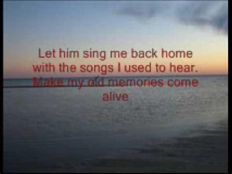 sing me back home breakthrough wmv