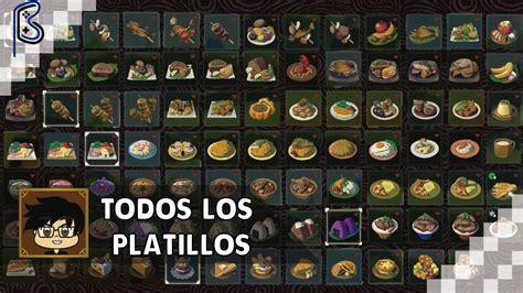 cocina zelda todas las recetas de cocina zelda breath of the wild en