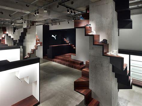 home design stores tokyo puma house by nendo tokyo 187 retail design blog