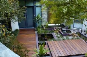 Japanese Patio Design Outdoor Deck And Water Feature Japanese Room Home Garden Design