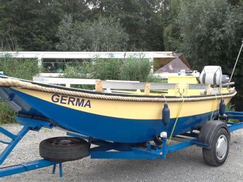 roeiboot met motor roeiboot met motor inclusief trailer advertentie 438894