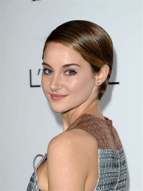 hairstyles for thin silky hair shailene woodley short hairstyle for women silky fine