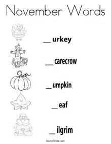 november coloring pages november words coloring page twisty noodle