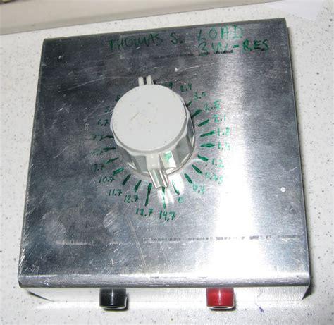 variable resistor load variable power resistor load