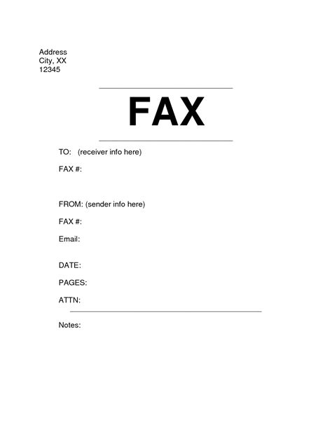 Sample Fax Cover Sheet Doc Oyle Kalakaari Co