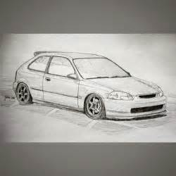 civic drawing stance on instagram