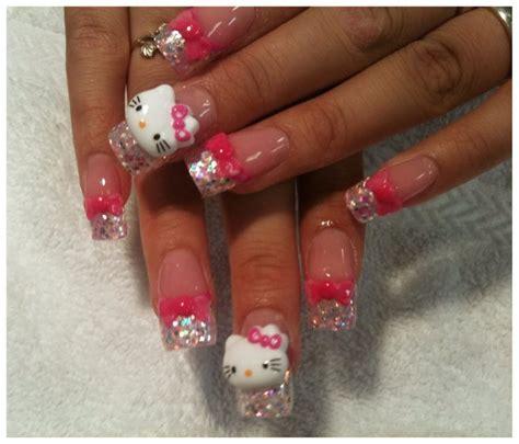 3d Nail Designs Hello