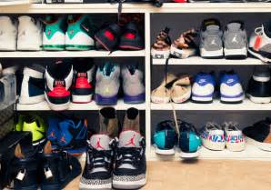 Home Decoration Online Store la lakers nick young shows off his sneaker collection