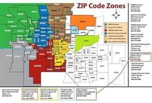 arizona zip code map zip code map az agenda