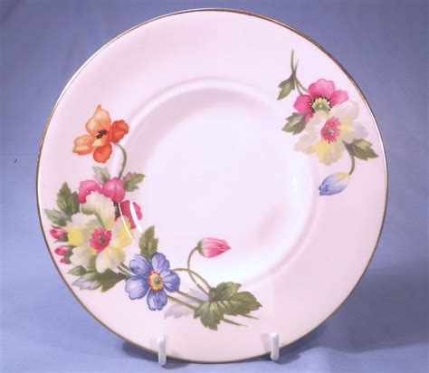 Floral Pattern Bone China Tea Cup And Saucer plant tuscan pink floral vintage bone china tea cup saucer and tea plate trio pattern 7405