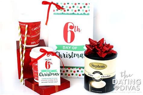 12 days of christmas printable service idea inspiration