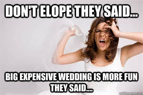 Wedding Day Meme - don t stress the wedding planning it will all works out