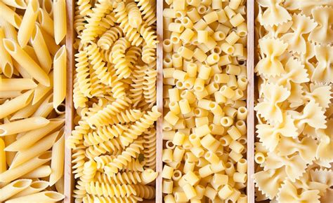 diversi tipi di pasta tipi di pasta barilla