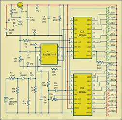 rpm meter for automobiles wiring diagram schematic circuit knowledge