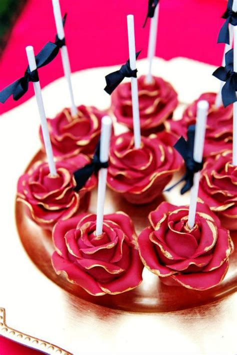 themes rose birthday party ideas blog stunning red flamenco