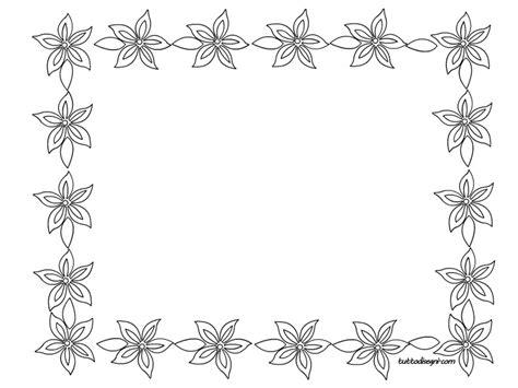 cornici fiori cornicette con fiori tuttodisegni