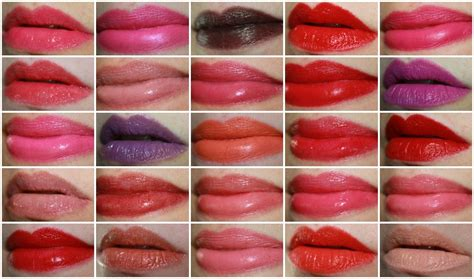 Lipstik N Y X 195 mac lip swatches just for vy varnish