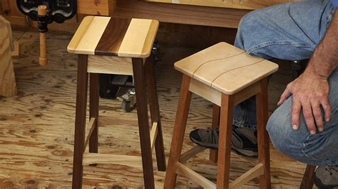 build  stool woodworking video