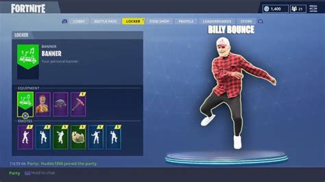 fortnite dances billybounceman does fortnite dances new