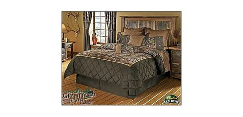 grand river lodge seclusion 3d 174 accented ii bedding