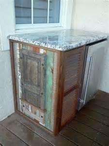 Outdoor Bar Cabinet Doors Closed Doors Decks And Tile On