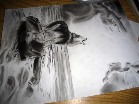 imagenes para dibujar a lapiz de lobos como dibujar lobos aullando a lapiz imagui