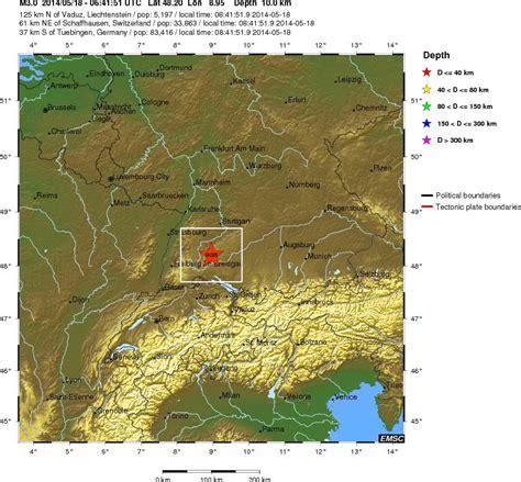 earthquake germany magnitude 3 0 earthquake germany 2014 05 18 6 mag