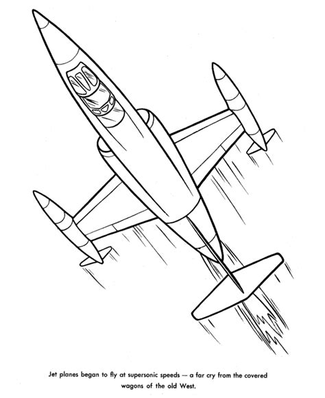 Airplane Coloring Pages To Print Coloring Part 2 Jet Coloring Page