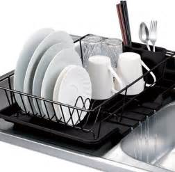Stainless Steel Dish Cabinet Black 3 Piece Dish Drainer Set Contemporary Dish Racks